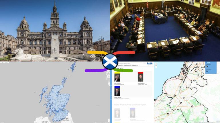 Scottish Local Council Electoral Wards – General, Geographic & Electoral Knowledge Atlas (29 Nov 2020)